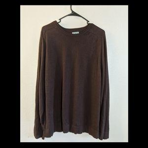 LL Bean Mens Cotton Cashmere Sweater Crewneck XL